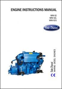 Solé Mini 62 Diesel Engine Instructions Manual