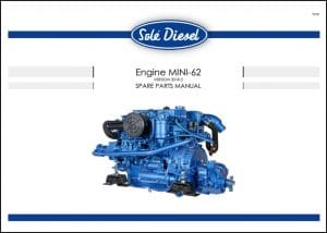 Solé Mini 62 Diesel Engine Spare Parts Manual