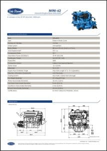 Sole Mini 62 Diesel Engine Technical Sheet
