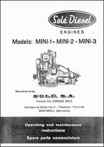 Sole Mini1 Operating Manual