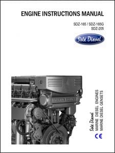Solé SDZ-165 Diesel Engine Instruction Manual