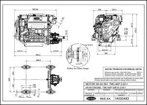 Solé SK60 Diesel Engine Drawings