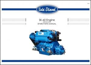 Solé SK-60 Marine Diesel Engine Spare Parts Manual