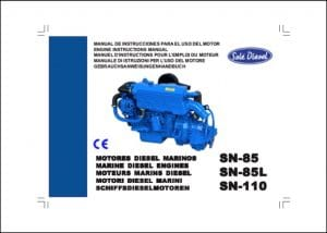 Sole SN85 marine diesel Engine Instructions Manual