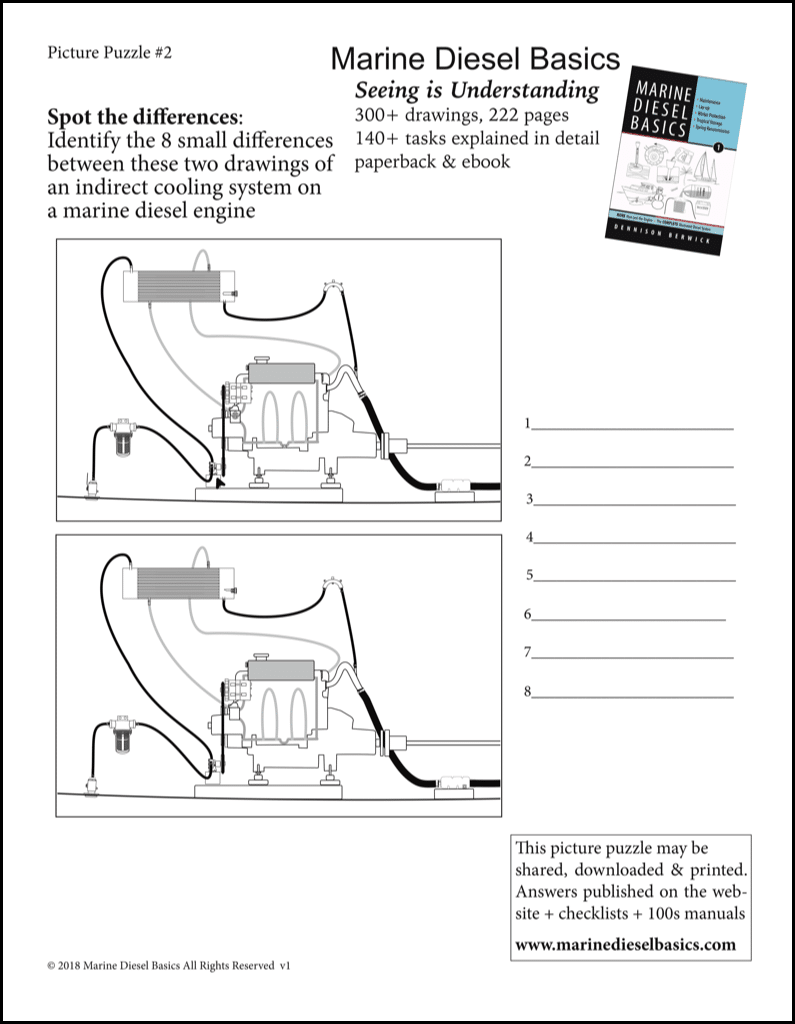 Marine Diesel Basics Spot the Difference #1 May 29 2018