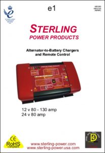 Sterling AB1280 Charging Regulator Manual