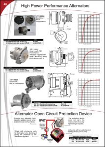 Sterling Alternators Product Sheet