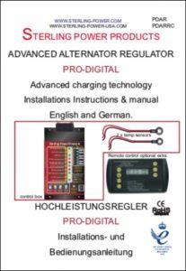 Sterling Alternator Regulator PDAR Manual