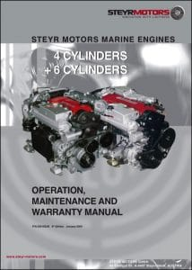 Steyr diesel engine 4 cyl Operation Manual