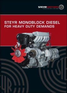 Steyr Diesel Engine Heavy Duty Brochure