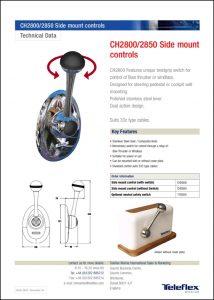 Teleflex CH2800-50 Control Information Sheet