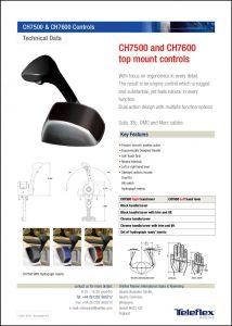 Teleflex CH7500 Control Information Sheet