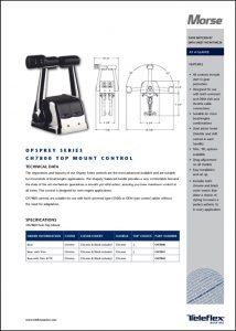 Teleflex CH7800 Control Information Sheet