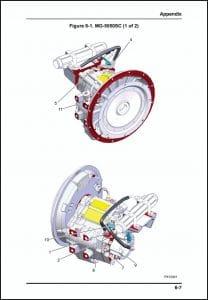 Twin Disc MG-5050SC marine transmission Drawing
