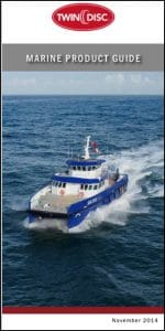 Twin Disc Marine Tranmission (gearbox) Product Guide 2014