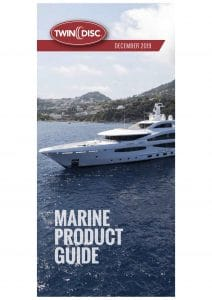 Twin Disc Marine Gearbox Product Guide 2019