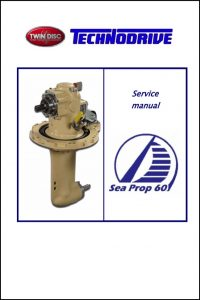 Twin Disc Sea Prop 60 saildrive Service Manual