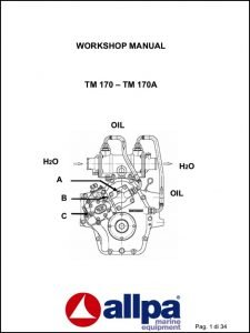 Twin Disc TM 170 marine transmission Workshop Manual