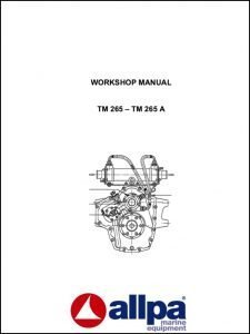 Twin Disc TM 265 marine transmission Workshop Manual