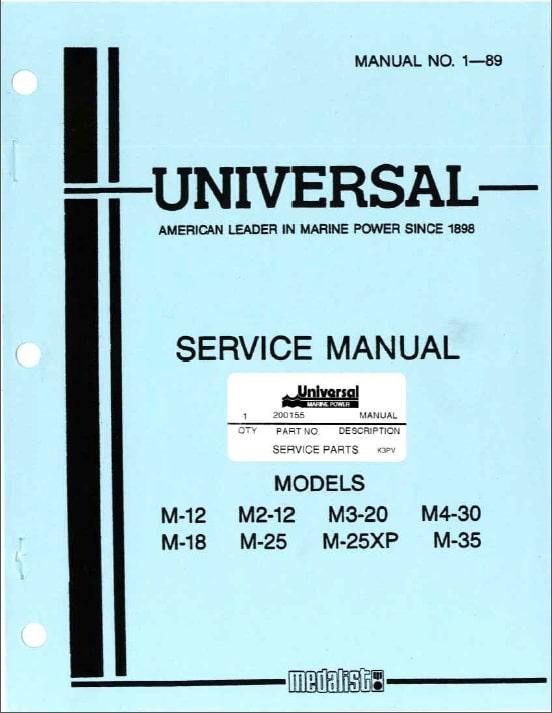 universal m12 diesel engine service manual marine diesel basics rh marinedieselbasics com marine power engine service manual Marine Field Manual