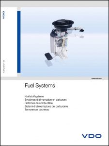 VDO Fuel Systems Catalogue 2008