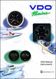 VDO Marine Instruments Catalog Catalog