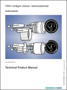 VDO Technical Product Manual