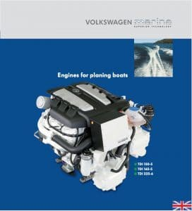 VW Marine TDI diesel engine Catalog