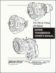 Velvet Drive 71C Owner's Manual