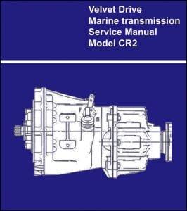 Velvet Drive CR2 Marine Transmission Service Manual