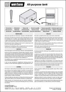 Vetus ATANK Tank Installation Guide