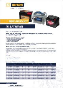 Vetus Batteries Brochure