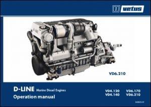 Vetus D Line VD4.120 marine diesel engine Operation Manual