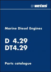 Vetus D4.29 marine diesel engine Parts Catalogue