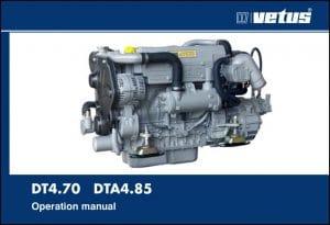 Vetus DT4.70 diesel engine Operation Manual