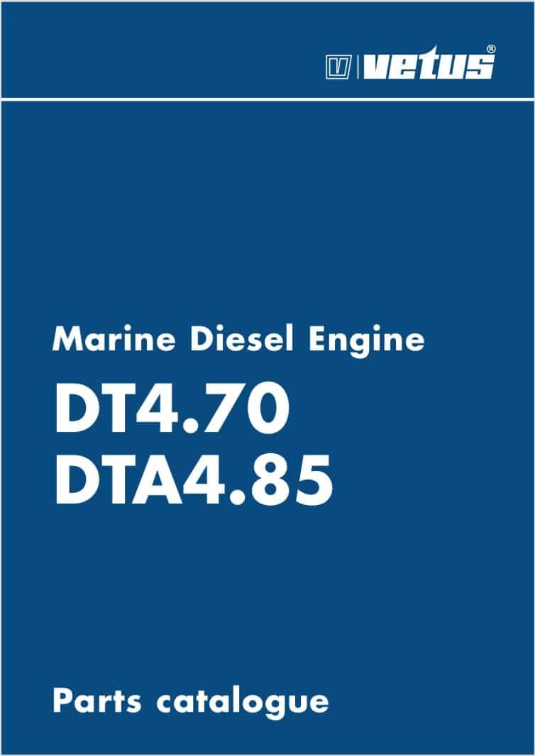 Vetus DT4.70 marine diesel engine Parts Catalogue
