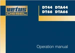 Vetus DT44 diesel engine Operation Manual