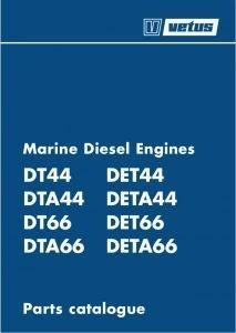 Vetus DT44 marine diesel engine Parts Catalogue