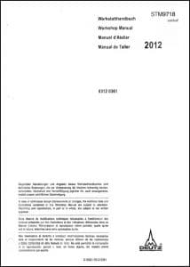 Vetus Deutz BFM2012 diesel engine Workshop Manual