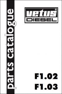Vetus F1.02Diesel Engine Parts Catalogue 1995