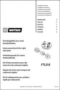 Vetus FTLD B Tank Inter-Connection Kit Installation Instructions