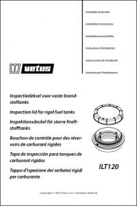 Vetus ILT120 Tank Inspection Lid Installation Instructions