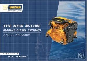 Vetus M Line marine diesel Engines Catalog