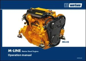 Vetus M Line marine diesel engine Operation Manual