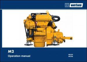 Vetus M2.02 marine diesel engine Operation Manual