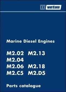 Vetus M2.02 marine diesel engine Parts Catalogue