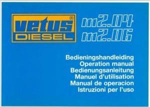 Vetus M2.04 diesel engine Operation Manual
