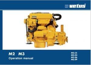 Vetus M2.05 marine diesel engine Operation Manual