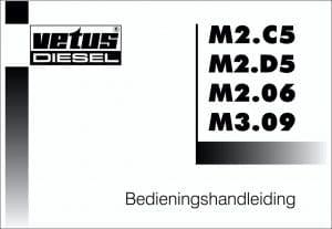 Vetus M2.C5 .etc diesel engines Operation Manual in Dutch