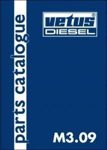 Vetus M3.09 marine diesel engine Parts Catalogue